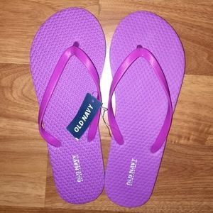 {Old Navy} Bright Purple Flip-Flops